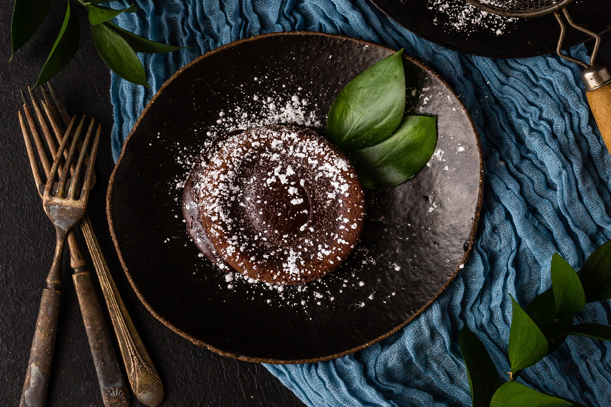Fondant au chocolat coeur coulant Coconut